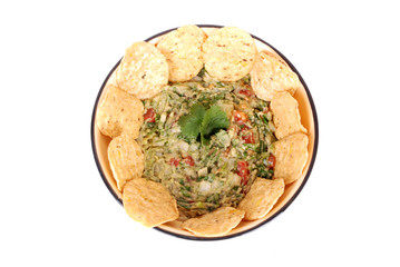 Dip with nachos