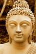 Kopf einer Buddha-Statue, Südindien