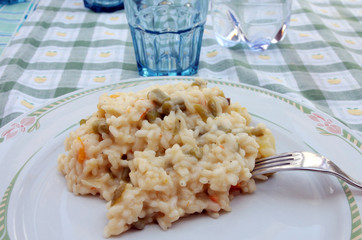 Vegeterian risotto