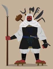 Monk soldier