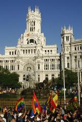 Gay parade in Madrid (2007)