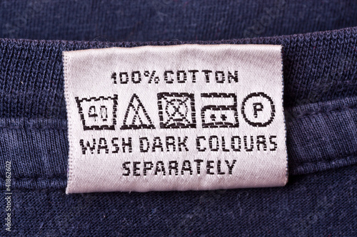 Washing instruction
