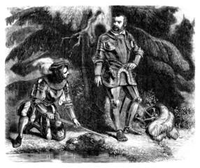 2 Knights - 16th century - Renaissance