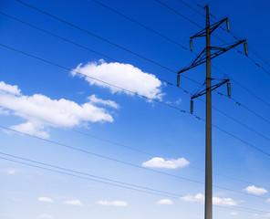 Transmission line support
