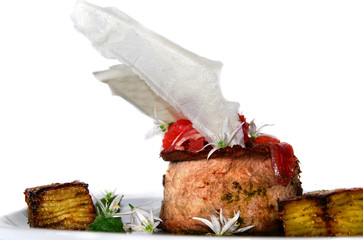 fillet of limousine, new nordic cooking