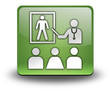 "Green 3D Effect Icon ""Health Education"""