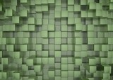 Green squares background - 41870474