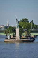 Replica of Liberty Statue in Paris