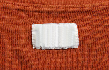 Orange Shirt with White Label