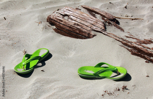 Flip Flops on the Beach
