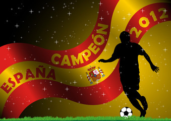 Spain Soccer Campeon