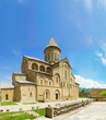 Постер, плакат: panorama of famous symbol of christianity Georgia