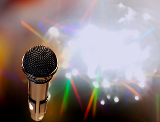 microphone abstract music background