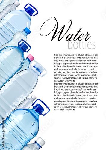 Bottles of wate