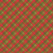 Christmas plaid background, seamless pattern included