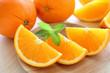 オレンジとミント