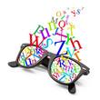 occhiali alfabeto
