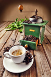 Expresso with coffee grinder - 41883493