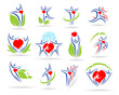 people collection medical icons