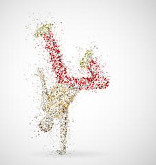 Dancing male
