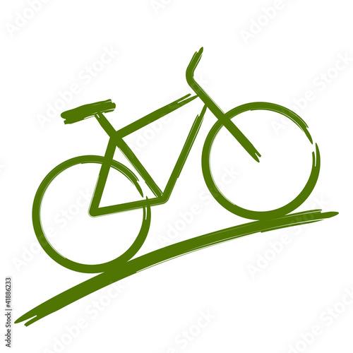 Green bike - 41886233