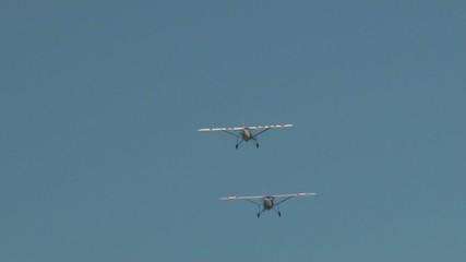 vidéo 2 avions