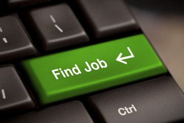 green find job enter button