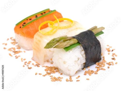 Spargel, Sushi