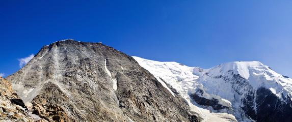 Dome du Goûter et glacier de Bionnassay