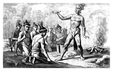 War Ceremony - American Indians