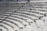 Closeup Ancient Theater in Plovdiv
