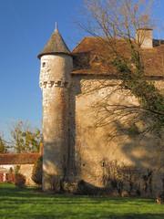 Château de Pruniers ; Montmorillon ; Vienne ; Poitou-Charente