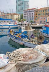 fishing boat - Savona Italy