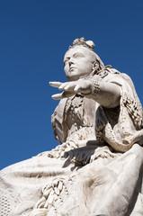 Queen Victoria Statue in Valletta, Malta