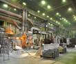 Schwerindustrie Fabrik / steel mill industry