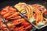 Fototapeta morze - jedzenie - Na zakupach