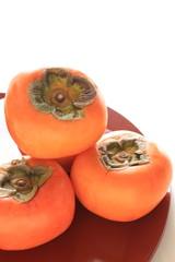 秋の味覚の柿