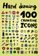 Creative icons collection