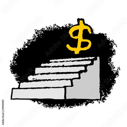 Dollar stairs
