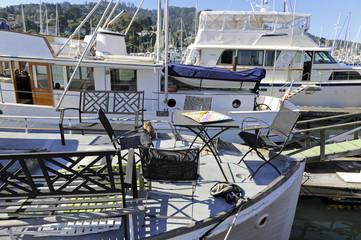 salotto in barca