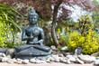 Buddha im Ziergarten