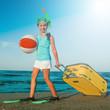 Summer vacation - travel to the beach resort