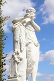 Mercury - Roman mythology statue in Vienna