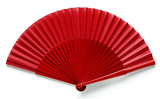 Spanish red fan