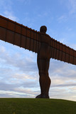 Angel of the North, Newcastle, Northumberland, UK.