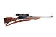 Leinwandbild Motiv Hunting rifle