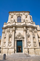 Church of St. Chiara. Lecce. Puglia. Italy.