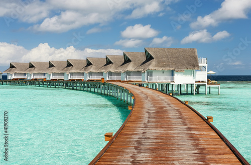 The resort on Maldives