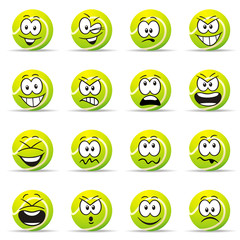 Emoticons Tennis