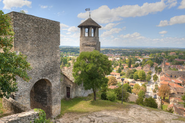 Tower of Saint-Hyppolyte over Cremieu